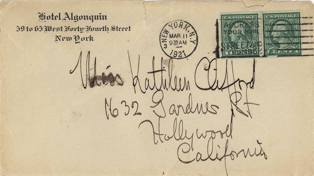 Victor Fleming Letter ( Gone with the Wind& Wizard of Oz)