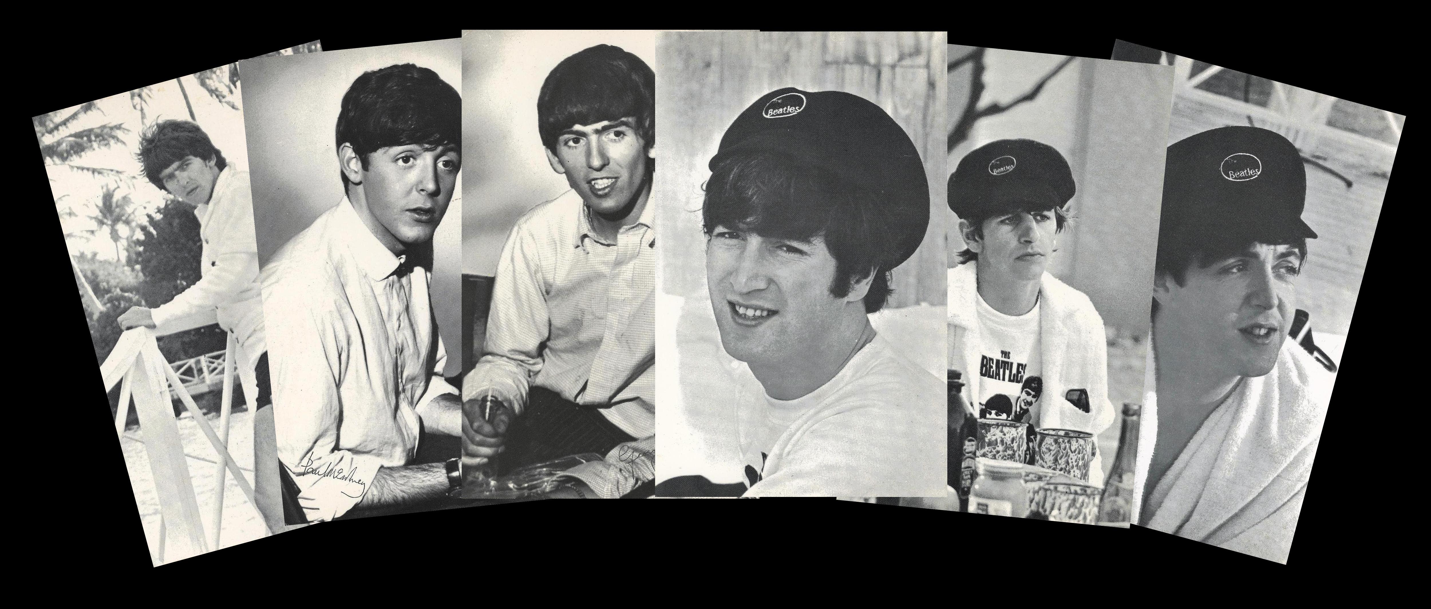 Autographs Of John Lennon Paul McCartney And George Harrison More