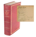 Lincoln-Douglas Debates Signed by William Howard Taft