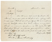 Abraham Lincoln Legal Brief 1832  (23 years old Attorney)