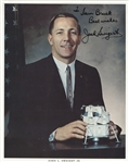 Jack Swigert Official Nasa Signed Photo