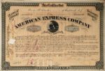 James C. Fargo, James f Fargo & William H. Seward Jr, Signed American Express