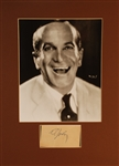 Al Jolson- Signed Card with Photo