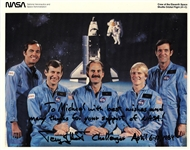 Crew of the Eleventh Space Shuttle Orbital Flight