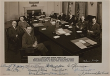 Harry Truman and Cabinet
