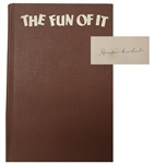 Amelia Earhart Signed Book With Mini Record!