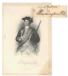 Extremely Rare George Washington Autograph at Age 18