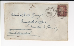 Charles Dickens Signed Envelope