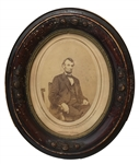 Rare Abraham Lincoln Photo By Brady Gallery