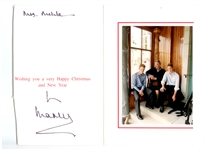 Christmas Card From Prince Charles to Aileen Mehle(Suzy Knickerbocker)