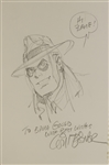 Will Eisner Original Sketch