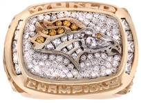 1998 Denver Broncos Super Bowl XXXII Championship Ring