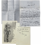 "Cecil Beaton collection of letters to Aileen Mehle  ""Suzy Knickerbocker"""