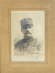 Ferdinand Foch Signed photo To Governor of California