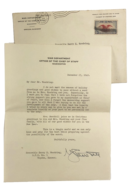 Important Appointment for Secretary of War-(Cabinet Position) by Franklin D. Roosevelt