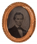 Abraham Lincoln: A Fine Example of the Iconic George Clark Ambrotype