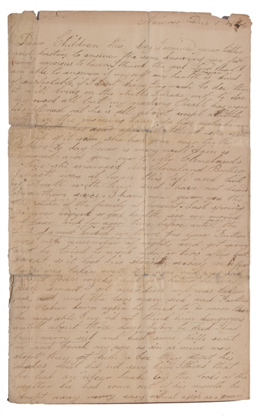 Extremely Rare Mormon Letters 1843-1845
