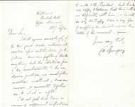 "Charles H. Spurgen ""importance to write to the President"""