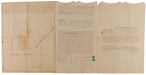General Abner Doubleday Signed Document