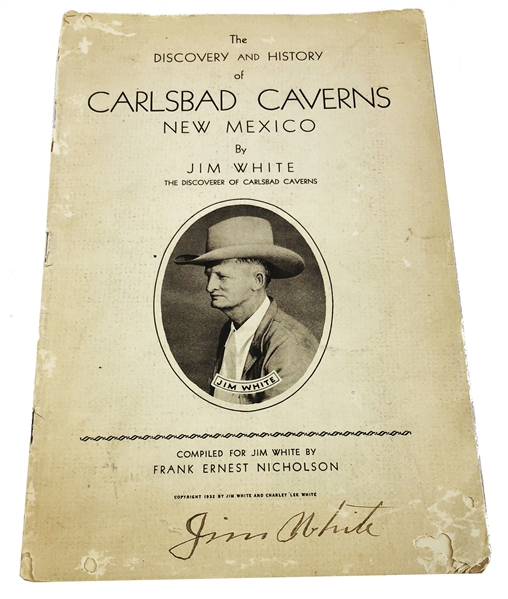 Jim White: Discovery and History of Carlsbad Caverns, New Mexico