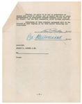 Abbott and Costello Universal Pictures Contract