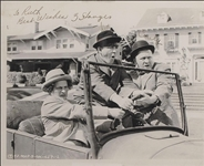 Three Stooges Classic SP In A Car