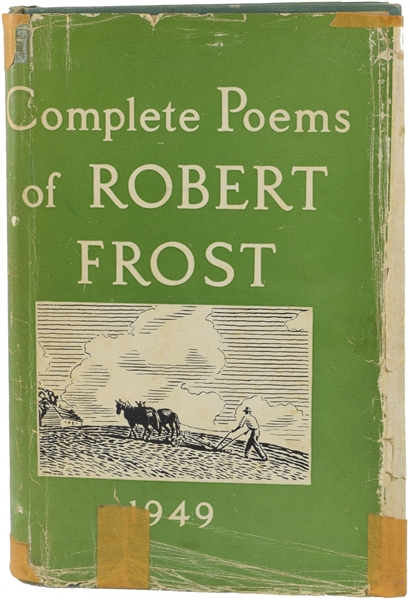 Complete Poems of Robert Frost 1949 Signed