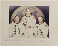 Apollo 11 Crew To Senator Yarborough