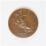 Paris 1900 Exposition Universelle/Summer Olympics Bronze Commemorative Medal with Original Case