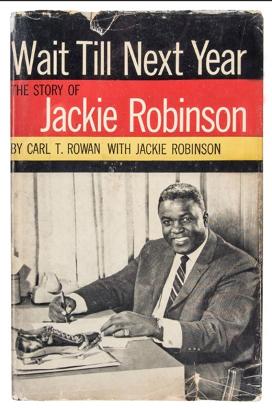 Jackie Robinson Signed Book