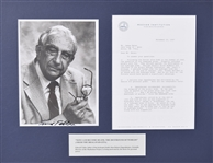 Edward Teller Important letter and SP