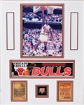 Michael Jordan Photo with pins and  Cards