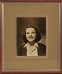 Judy Garland Vintage Signed Photo