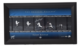Sandy Koufax Upper Deck Authenticated Pitching Images