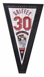 Ken Griffey Jr. Upper Deck Authenticated Signed Pennant