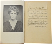 Amelia Earhart 1st ed Book With Signature & Mini Record!