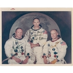 Apollo 11 Signed NASA 'red-numbered' photo
