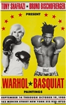 Andy Warhol/Jean-Michel Basquiat, Poster 1985