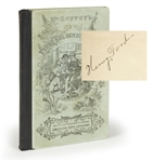 Henry Ford Signed book