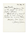 Alexander  Calder talks about  Making a letter into a Mobile