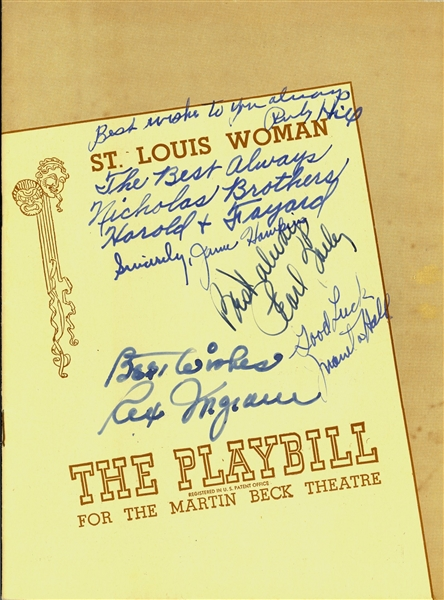 Cast Signed St. Louis Women