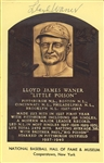 Pittsburgh Pirates Lot - Lloyd Waner, Willie Stargell
