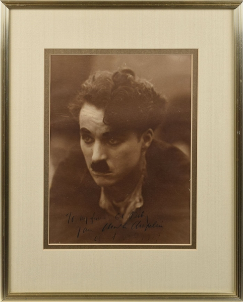 Rare  Oversized Chaplin as the Little Tramp