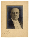 Louis BLERIOT Oversized signed photo
