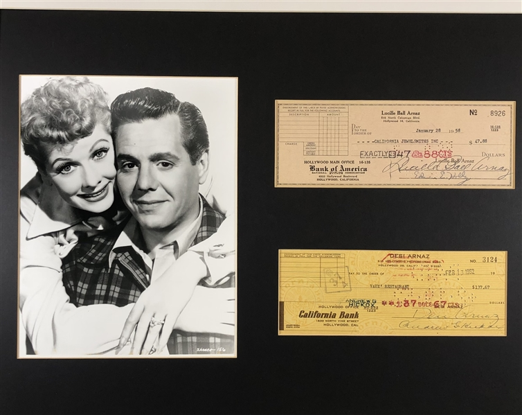 Lucille Ball/ Desi Arnaz Checks