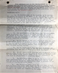 "Earle Ovington Book Agreement "" An Aviators Wife"""