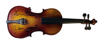 Three Tenors Signed Violin