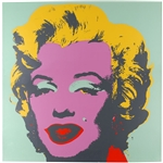 Andy Warhol Signed Marilyn Print