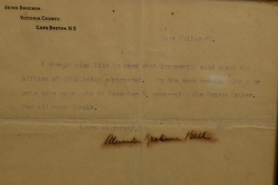 Alexander Graham Bell ( letter to teacher of Hellen Keller about the Father of the Deaf)