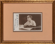Yehudi Menuhin Signed Vintage Photo